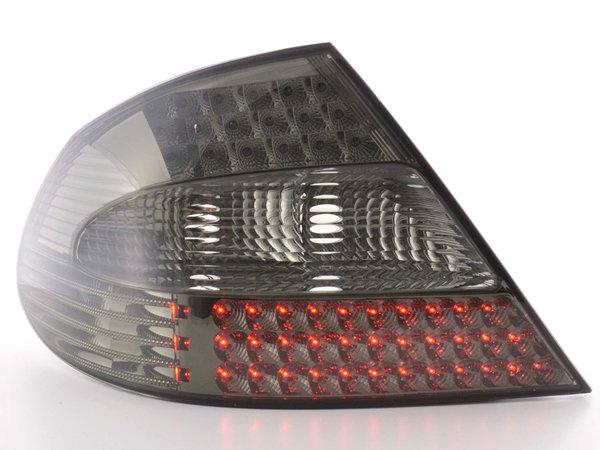 Mercedes W209 CLK Farolins Cristal LED Fumado