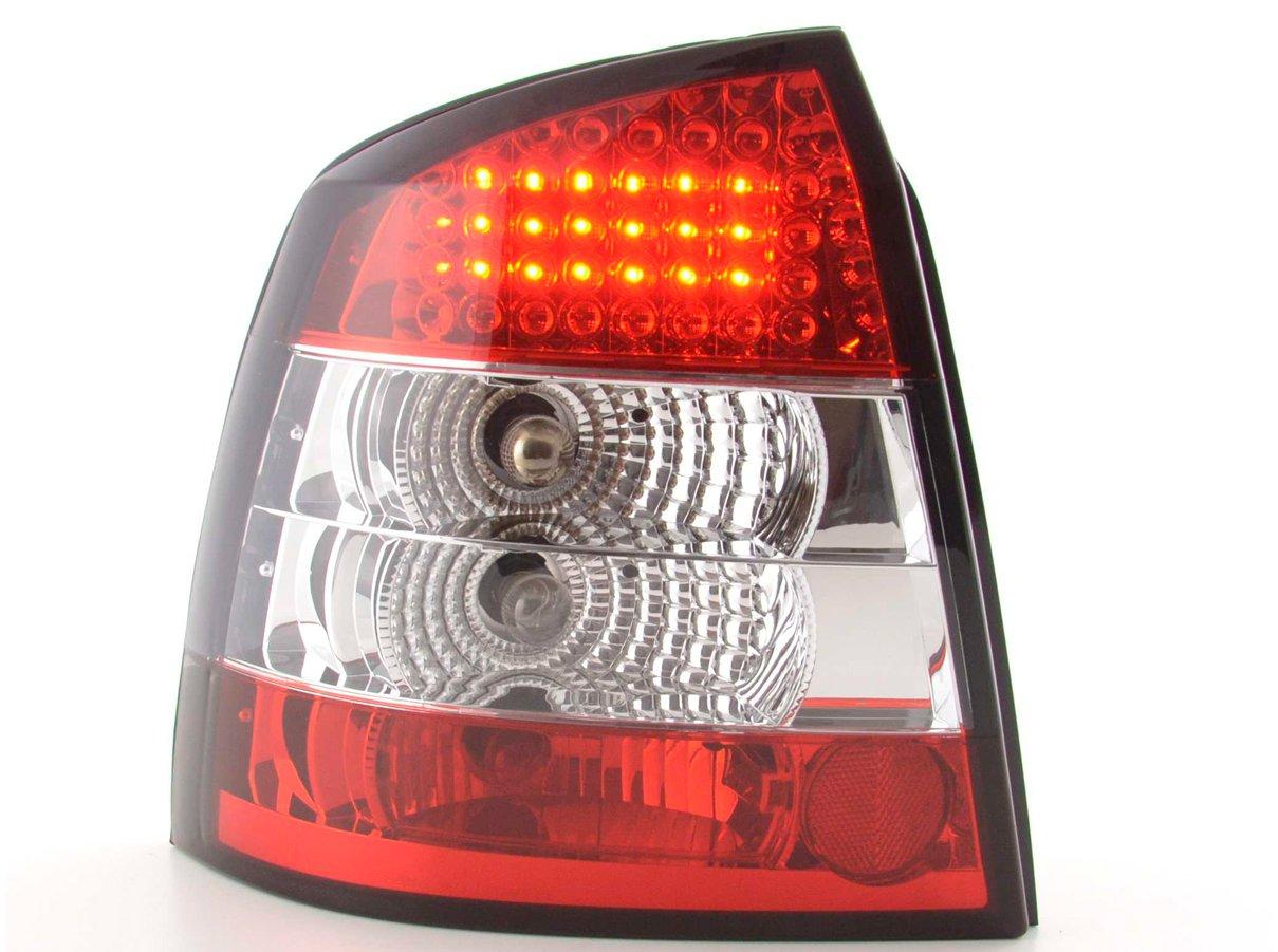 Opel Astra G farolins cristal LED