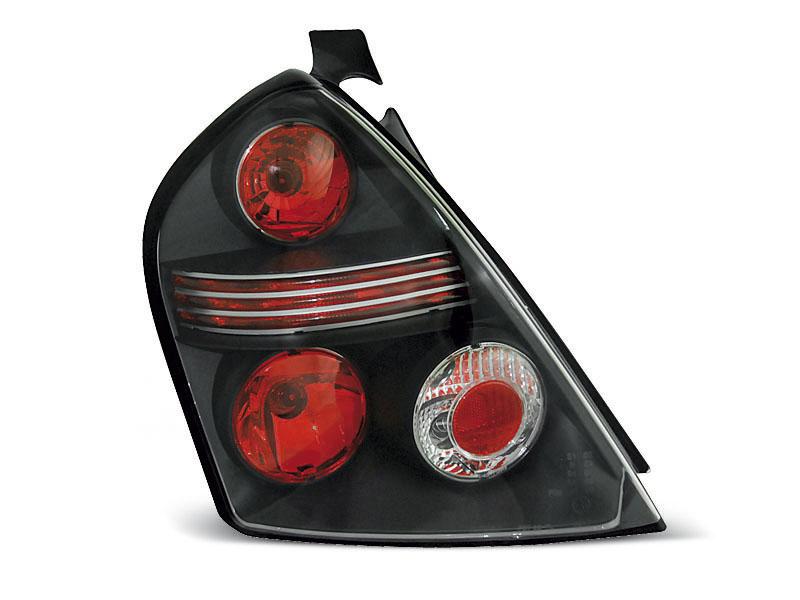 FIAT STILO 10.01-07 3 portas farolins preto