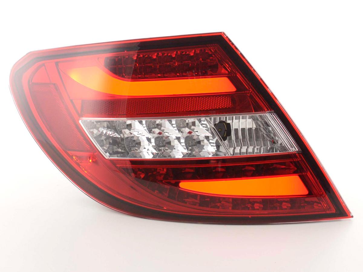 Mercedes C W204 Farolins LED Vermelho