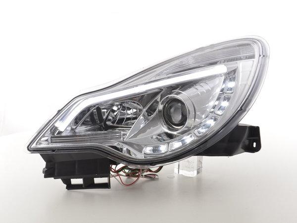 Opel Corsa D Farois LED LightBAR Cromado