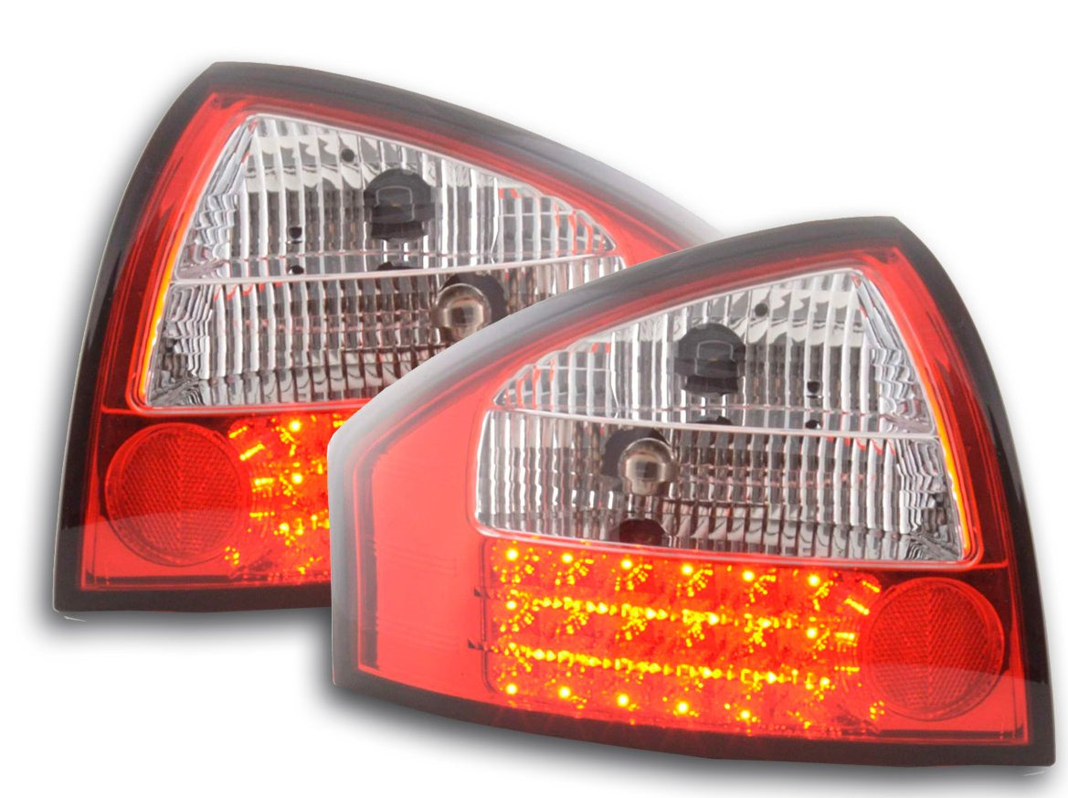 Audi A6 97-2003 Farolins Cristal LED