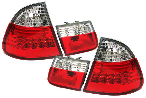 BMW E46 Touring Farolins LED Cristal