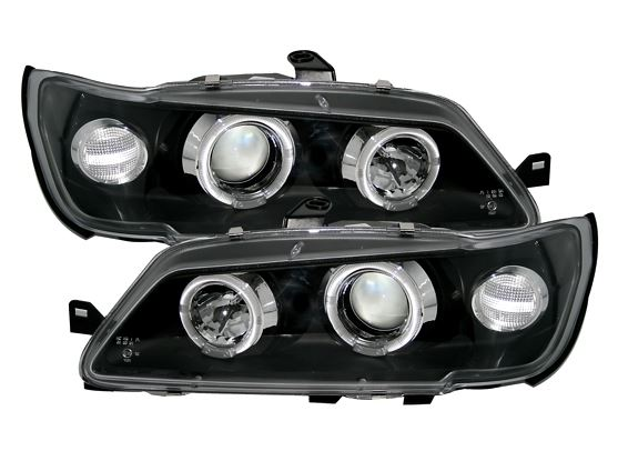 Peugeot 306 93-97 Farois Angel Eyes Preto