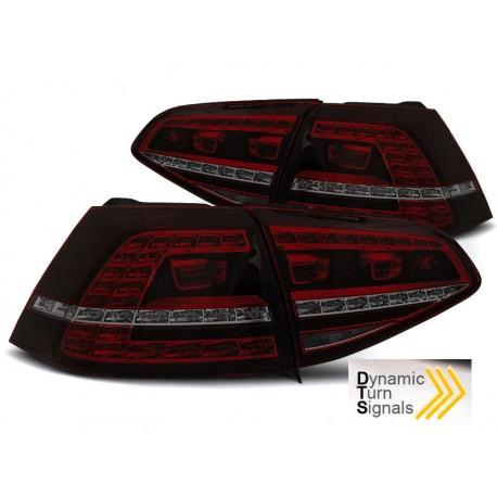 VW MK7 Farolins LED fumado Look GTI com pisca dinamico