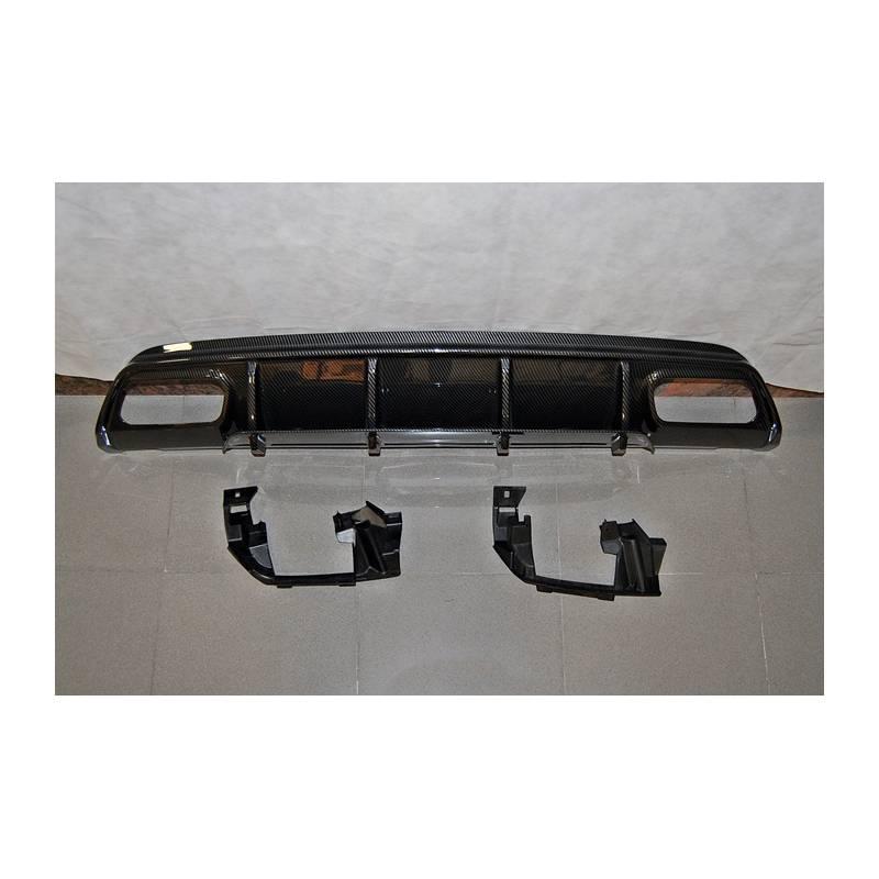 Difusor Traseiro Mercedes W176 16-18 Look A45 Carbono