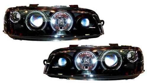 Fiat Punto 2 angel eyes preto