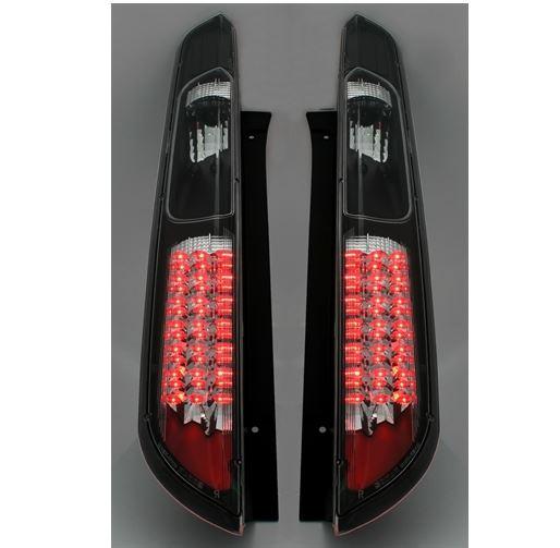 Farolins Ford Focus 2º modelo 2005+ LED Preto