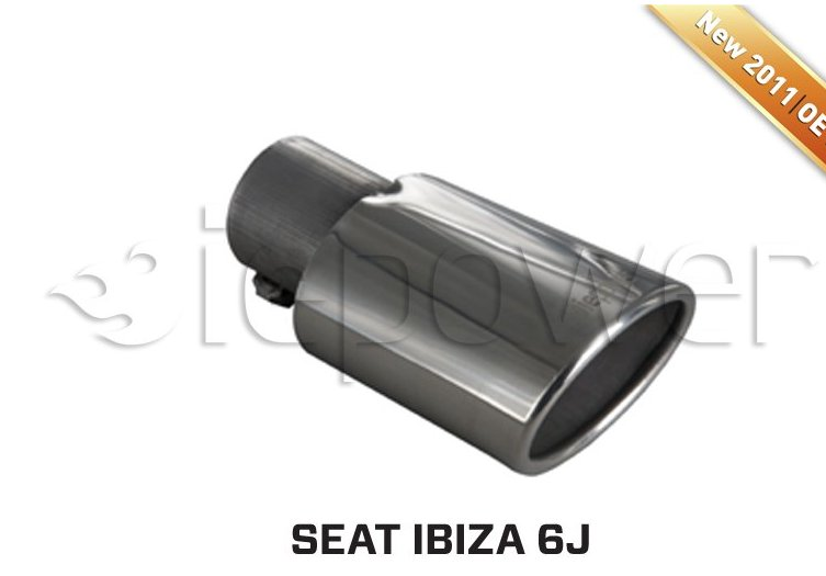 Ponteira  IEPower Oval de Parede Dupla-Ibiza 6J