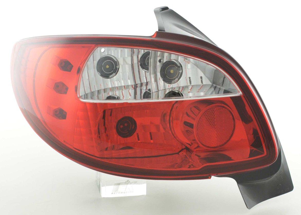 Peugeot 206 farolins cristal