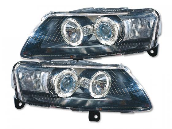Audi A6 farois angel eyes 2004-2008 fumado