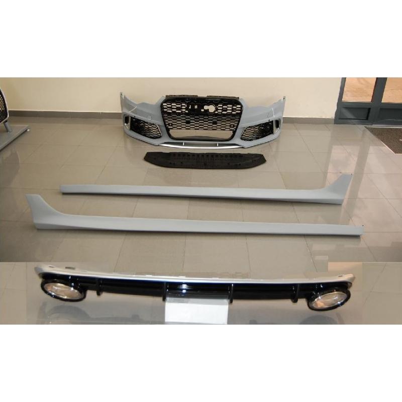 KIT DE CARROCERIA AUDI A6 C7 2013-2015 LOOK RS6