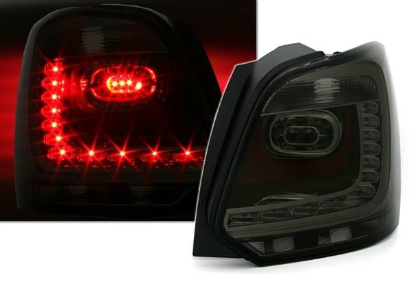 VW Polo 6R Farolins Led Fumado