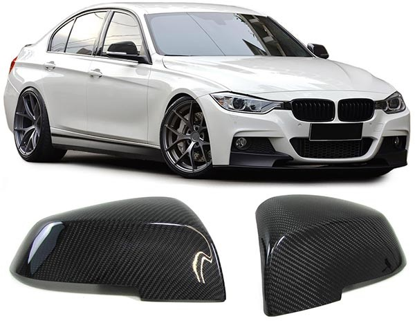 Capas Espelhos Carbono BMW F30 F31 F34 F35 F32 F33 F36 F20