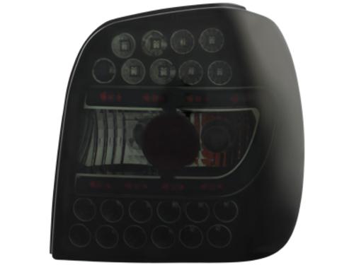 Volkswagen Polo 6N Farolins LED Fumado