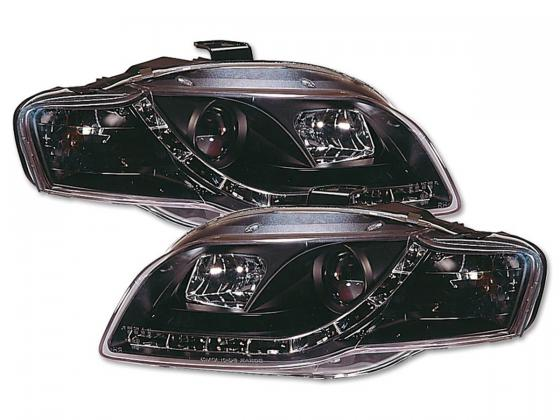 Audi A4 2005-2007 farois led fumado