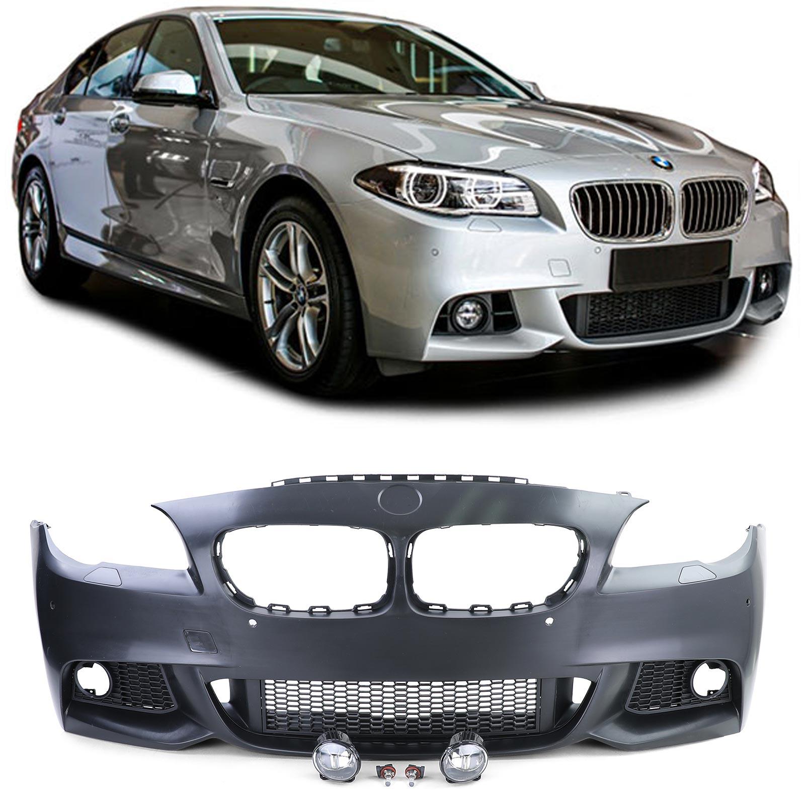 Parachoques Frente BMW F10/F11/F18 10-12 Look M-Tech com farois nevoeiro