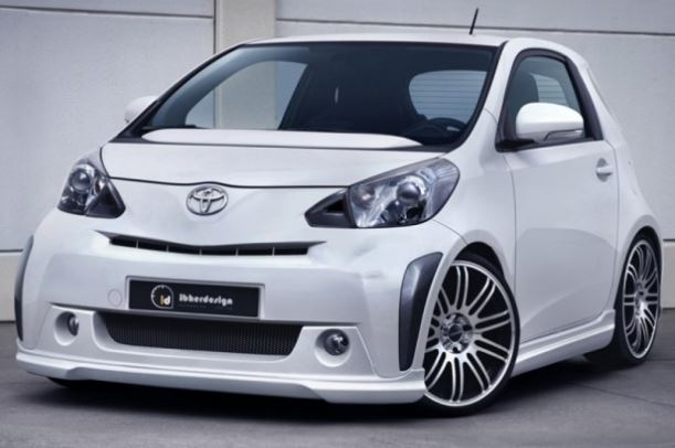 "Kit Aerodinâmico Toyota iQ ""PARTY"" kit base"