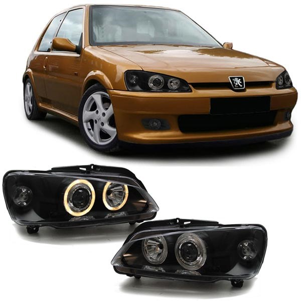 Peugeot 106 Farois Angel eyes preto