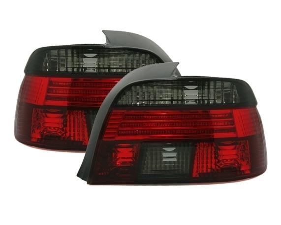 BMW E39 Farolins Cristal Vermelho/Fumado