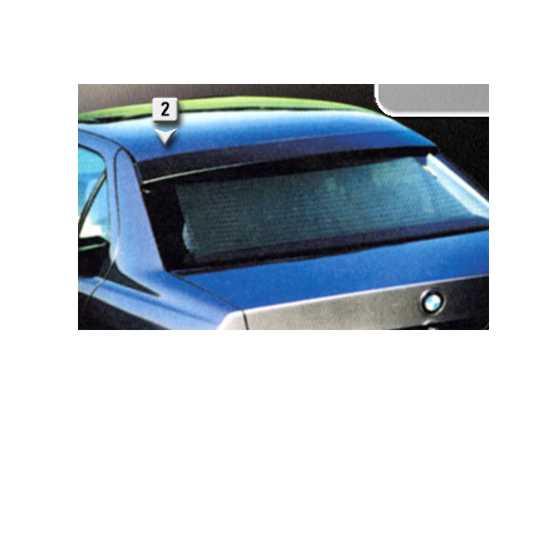Aileron BMW E36 4 portas superior