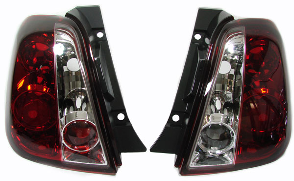 FIAT 500 Farolins cristal