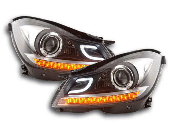 Mercedes w204 2011-2014 Farois Daylight Pisca LED