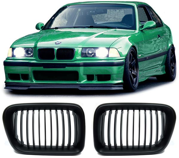 Grelha BMW E36 Preto 91-95