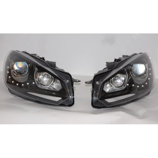 VW Golf 6 Farois LED Look R20