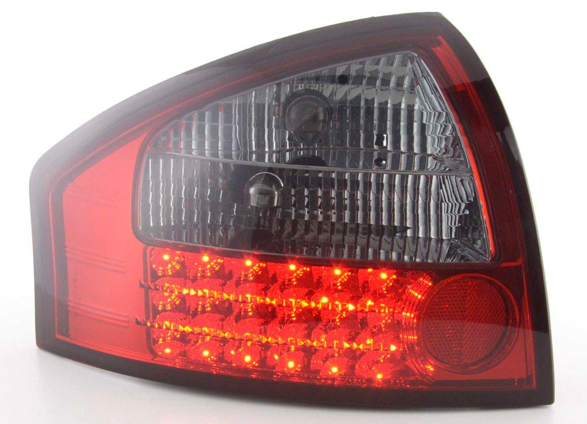 Audi A6 97-2003 Farolins Cristal LED Fumado