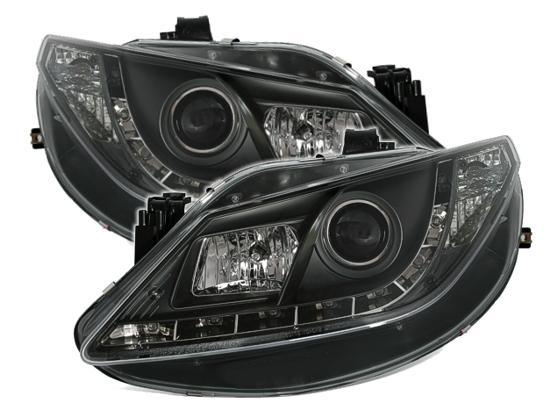 Farois LED Seat Ibiza 6J LED 2008+ preto