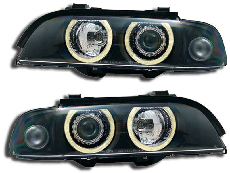 BMW E39 serie 5 95-2000 Angel Eyes Preto