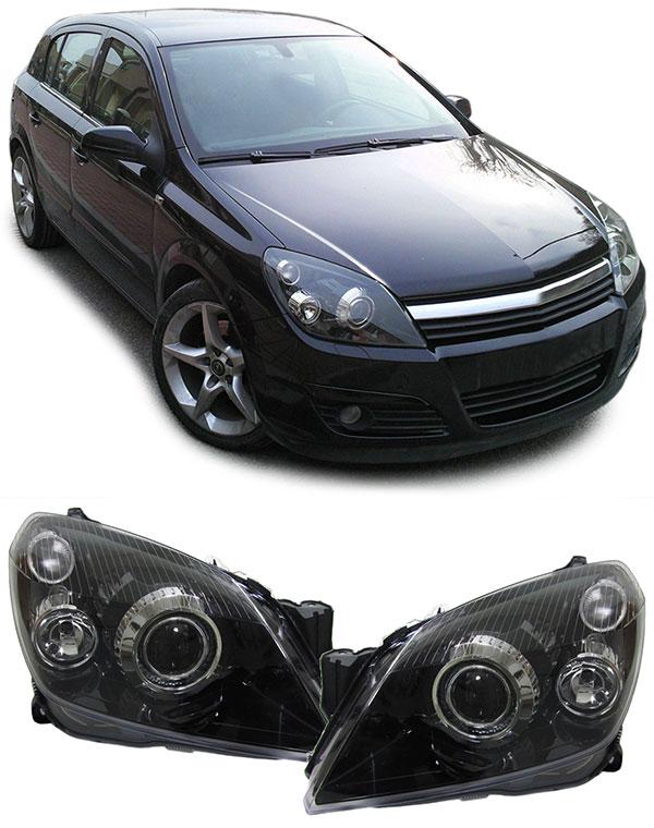 Opel Astra H Farois Xenon
