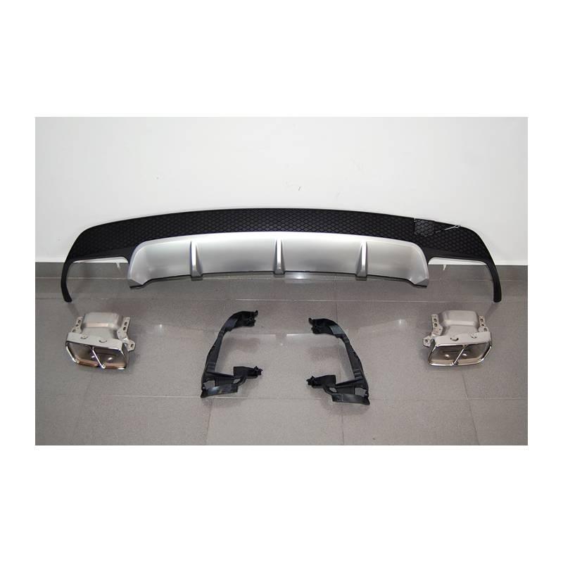 Difusor Traseiro Mercedes CLA W117 13-16 4P/SW Look A45 ABS