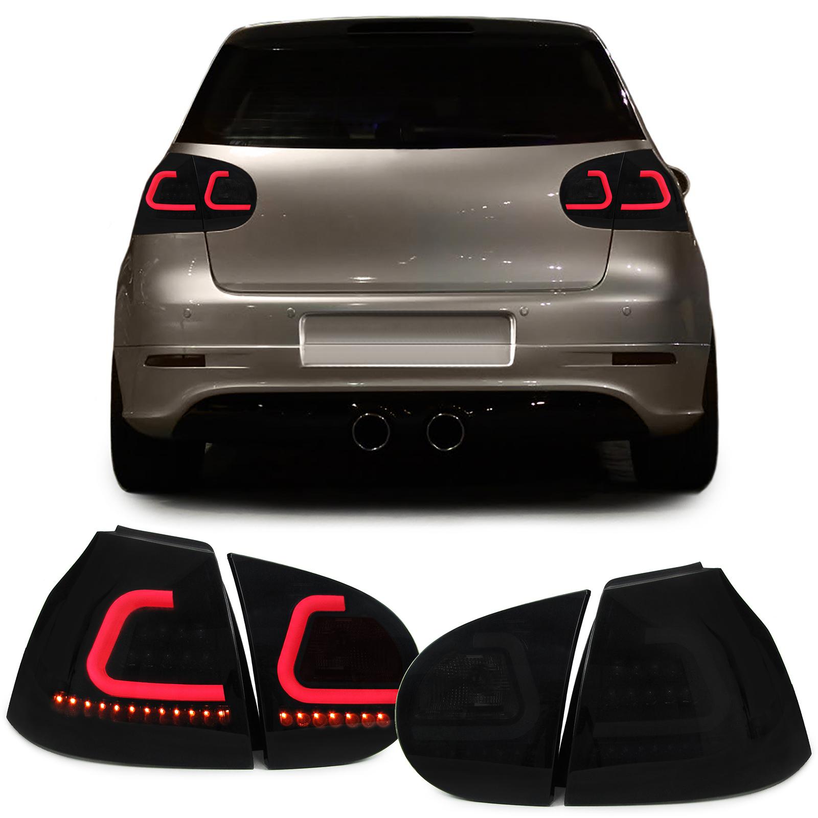 VW Golf 5 Farolins LED Fumado com pisca dinamico
