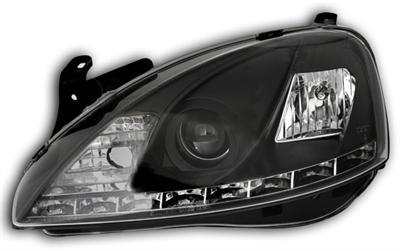 Opel Corsa C Devil Eyes Preto