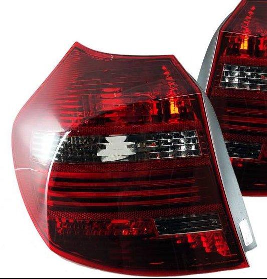 BMW  E81 E87 05/2007 - 09/2012 Farolins Vermelho/Fumado