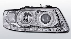 Angel Eyes Audi A3 01-02 cromado