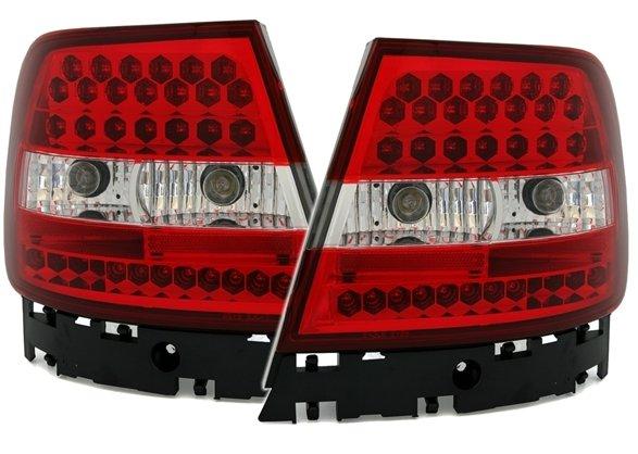 Audi A4 B5  Farolins Cristal LED