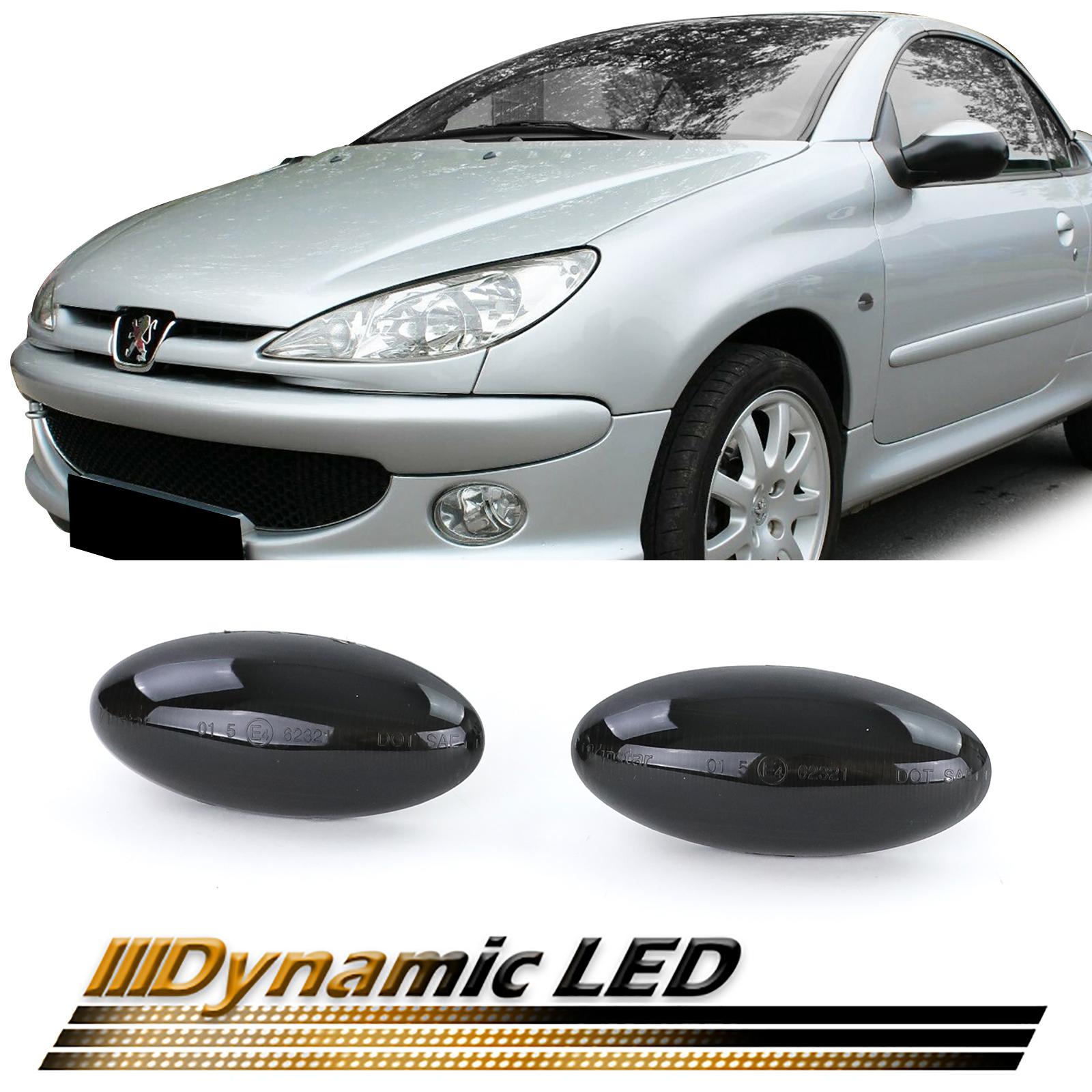 Laterais Dinamicos Fumado Peugeot 206 307 4007 407