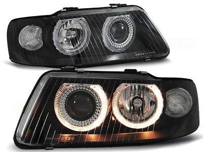 Angel Eyes Audi A3 01-02 preto