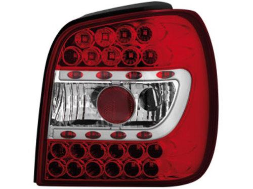 Volswagen Polo 6N Farolins LED Vermelho