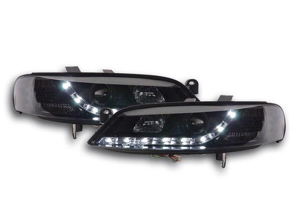 Opel Vectra B Farois LED Preto