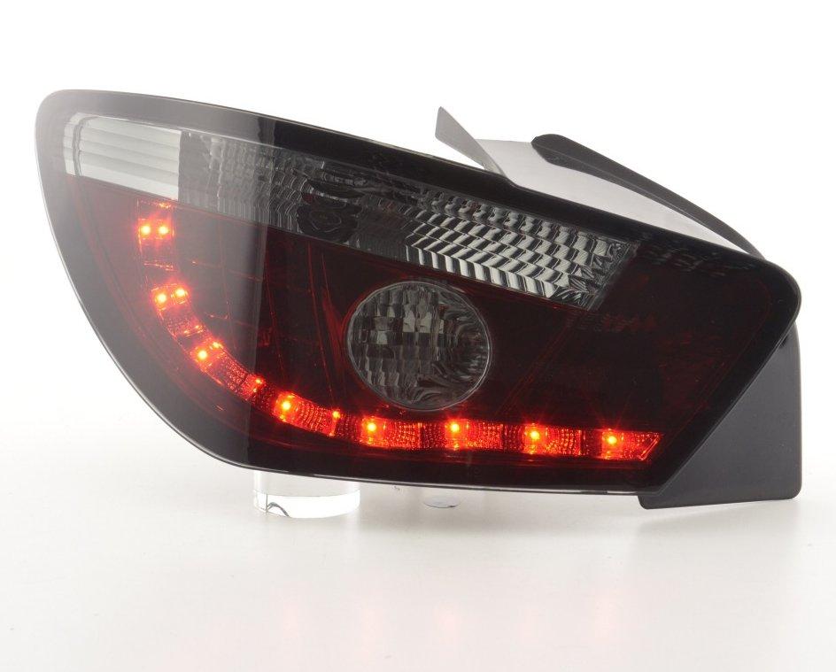 Seat Ibiza 6J 3P Farolins LED Vermelho- escurecido