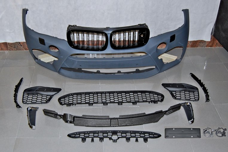 Parachoques Frente BMW F16 2013-2018 Look X6M