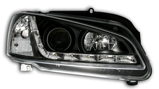 Peugeot 106 96+ Farois LED Preto