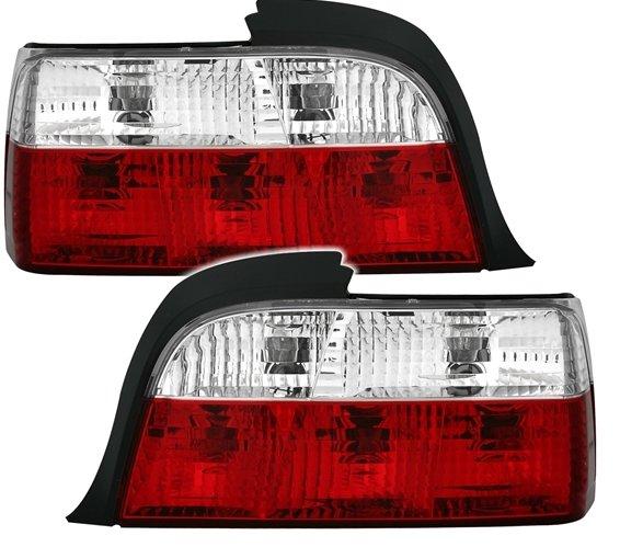 BMW E36 4 portas Farolins Cristal