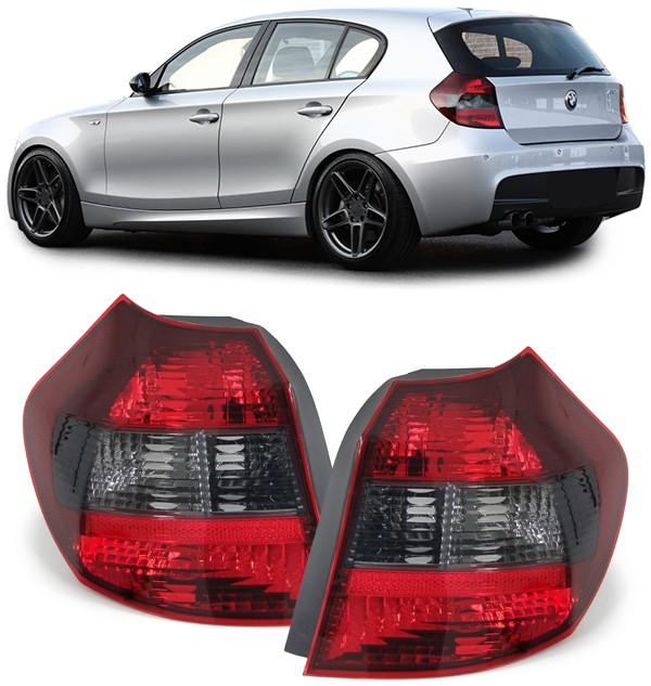 BMW E87 E81  ano  9/04-3/07 Farolins  Cristal Fumado