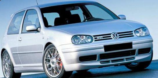 Spoiler Frente VW Golf 4 25 anos