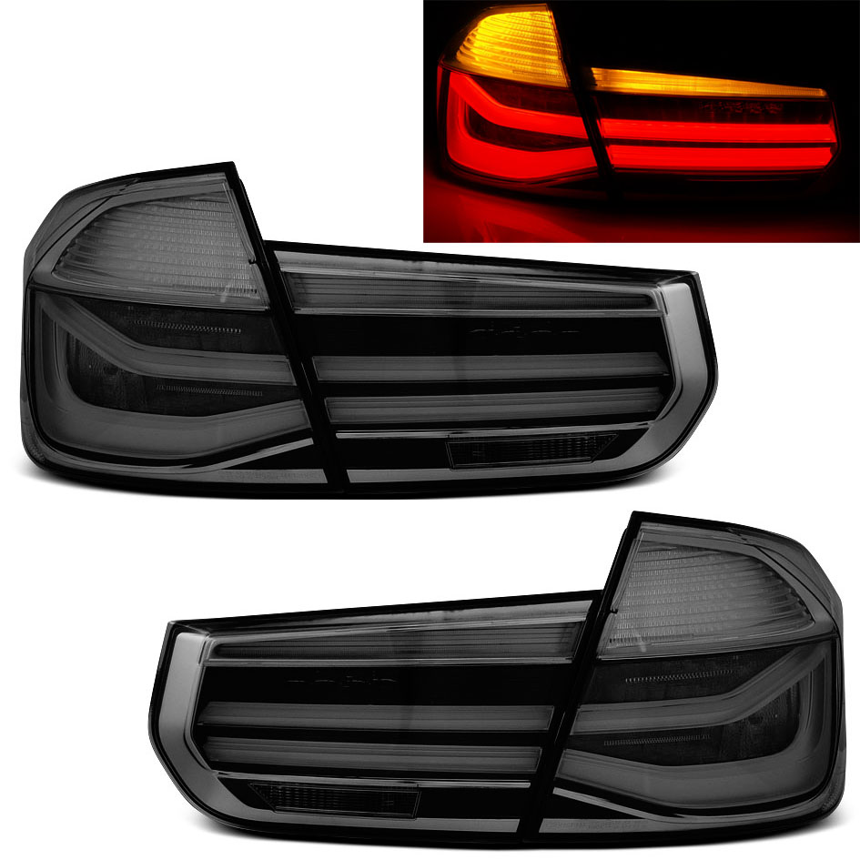 Farolins BMW F30 2011-2014 LED BAR Preto